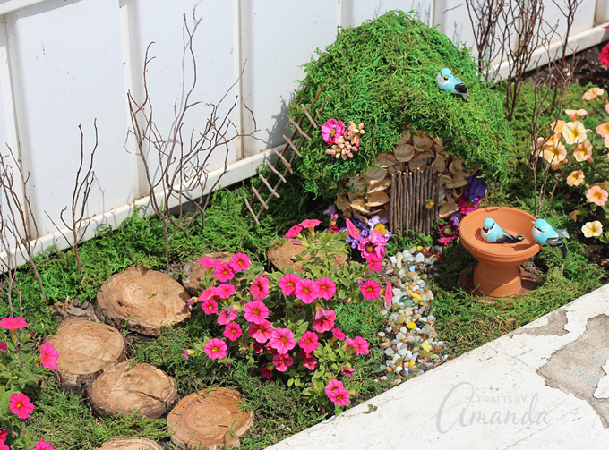 She Also Takes You Step By Step Through How To Transform A Wooden Birdhouse  Into A Tiny Fairy House. It Really Is One Of The Best Fairy Garden  Tutorials ...